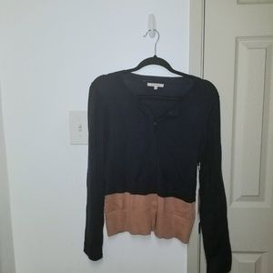 Nwt 41 Hawthorne color block cardigan